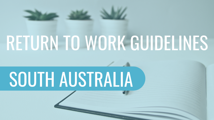 Return To Work Guidelines South Australia