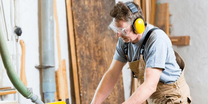 Noise in the workplace decibel meter